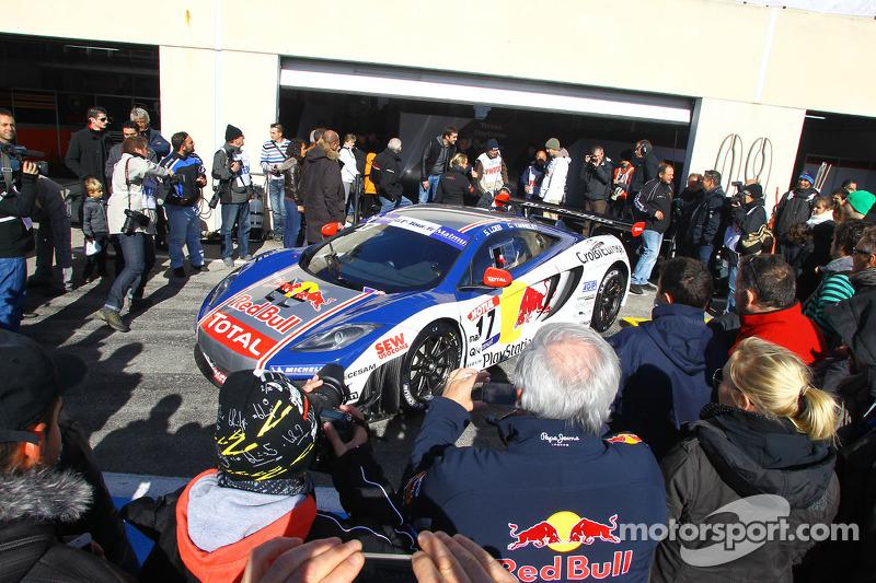 The countdown for Nogaro has started on Sébastien Loeb Racing