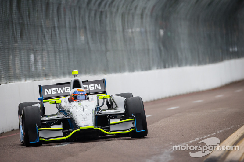 """Lights, camera, action on """"take two"""" for SFHR and Newgarden at Barber Motorsports Park"""