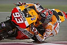 Marquez jumps to the lead on second day of practice in Qatar