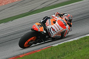 MotoGP Practice report  Bridgestone: Marquez produces magic last lap to top Qatar practice