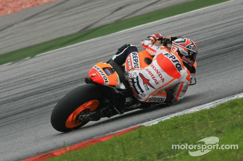 Bridgestone: Marquez produces magic last lap to top Qatar practice