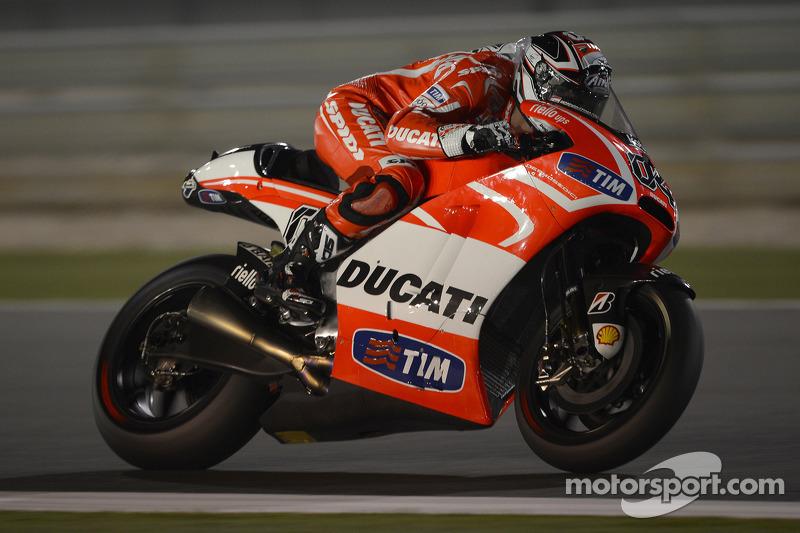 Impressive Dovizioso close to front row for Qatar Grand Prix