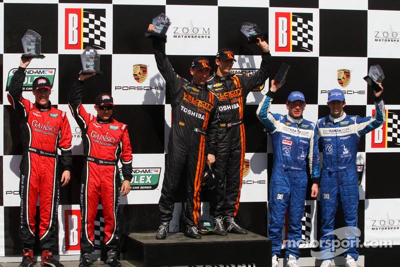 Podium finish for Spirit of Daytona Racing drivers at Barber