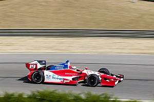 IndyCar Race report Wilson 8th in Honda Grand Prix of Alabama