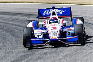 IndyCar Race report Penske Racing's Castroneves after Barber moved into first place in the series standings