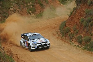WRC Leg report Ogier holds slender lead in first leg of Rally Portugal