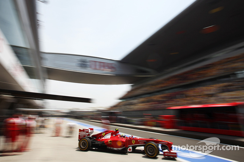 Missing Alonso quali coup not important - Massa