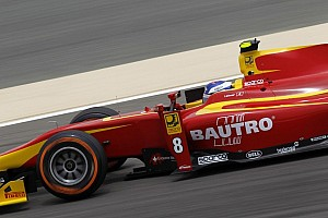 GP2 Qualifying report Leimer blazes to Sakhir pole position