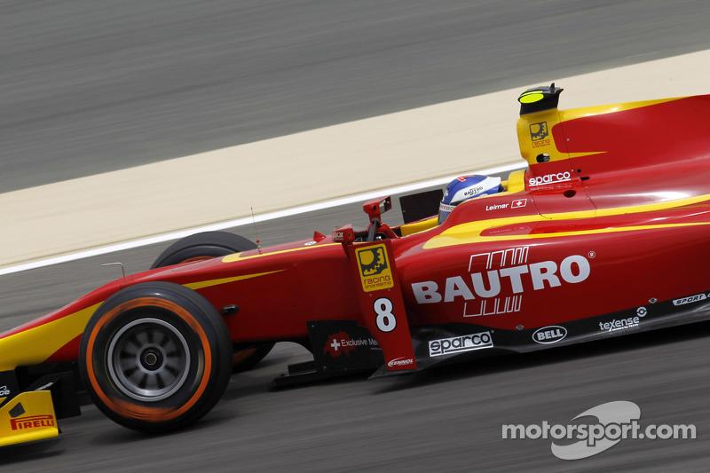Leimer blazes to Sakhir pole position