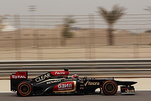Formula 1 Qualifying report Similar qualifying positions as last year for Lotus at Bahrain