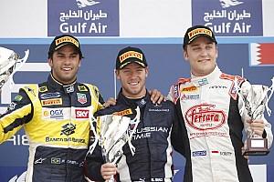 GP2 Race report Bird bags Sakhir Sprint Race