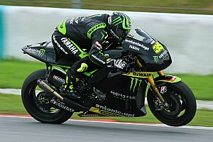 MotoGP Qualifying report Crutchlow close to front row in Texas