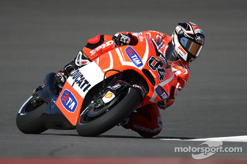Both Ducati riders finished in top-ten at Texas