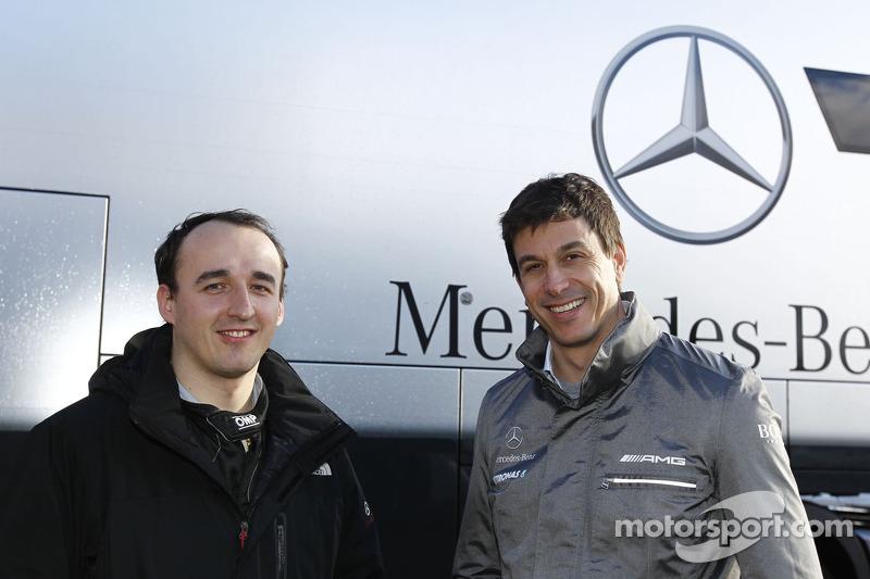 Kubica confirms Mercedes simulator run reports