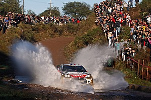 WRC Leg report Loeb marches on towards another win