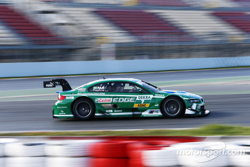 BMW driver Augusto Farfus starts from the front row in Hockenheim