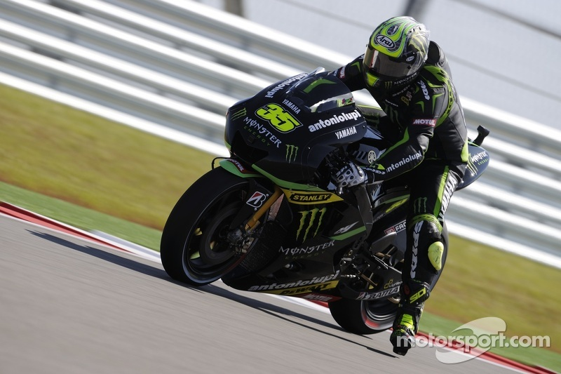 Yamaha Tech 3 rider Crutchlow close to front row in Spain