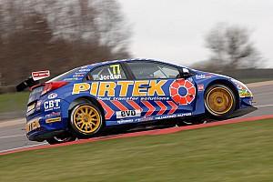 BTCC Qualifying report Andrew Jordan flies at Thruxton