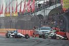 Bump into the wall hurts Carpenter's chances Sunday in Sao Paulo