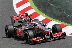 Formula 1 Practice report Rain disrupts half day of McLaren Friday practice in Barcelona