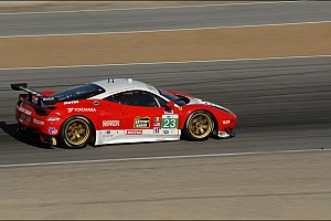 ALMS Qualifying report Bell and Sweedler to start sixth in GT at Laguna Seca