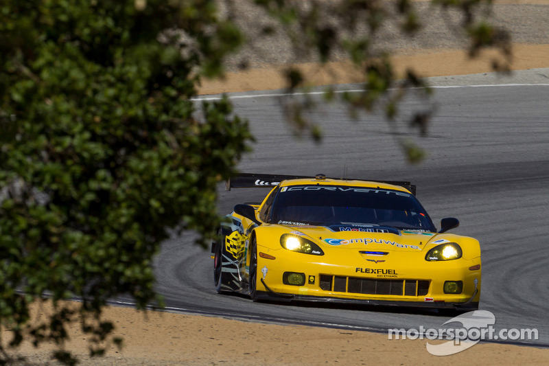Corvette Racing qualifies 4th and 6th at Laguna Seca