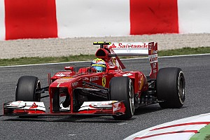 Formula 1 Qualifying report Alonso is fifth and penalty drops Massa to ninth on Spanish GP qualifying
