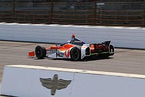 IndyCar Practice report Vautier completes ROP at Indianapolis Motor Speedway