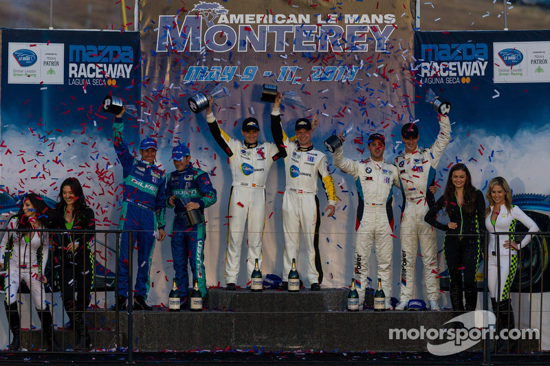 No.3 Corvette C6.R wins at Laguna Seca with flawless race