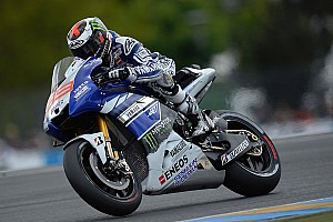MotoGP Qualifying report Lorenzo secures front row in Le Mans for Grand Prix de France