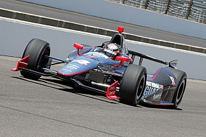 IndyCar Qualifying report Panther ends eventful Pole Day with Hildebrand 10th and Bell 22nd in the show