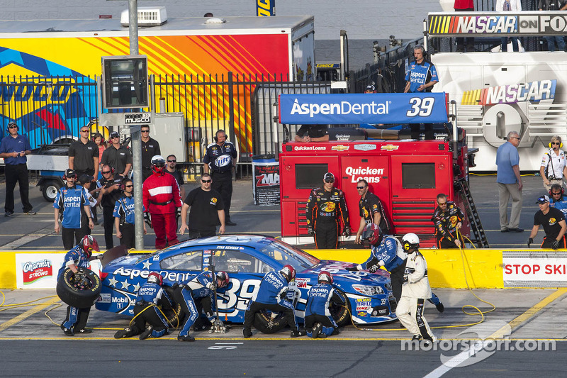 Long night for Newman in All-Star race at Charlotte