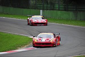 European Le Mans Race report AF Corse Ferrari 458 Italia, two podiums at Imola