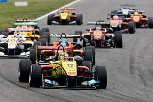 F3 Europe Race report Giovinazzi earns Double R's first European championship points