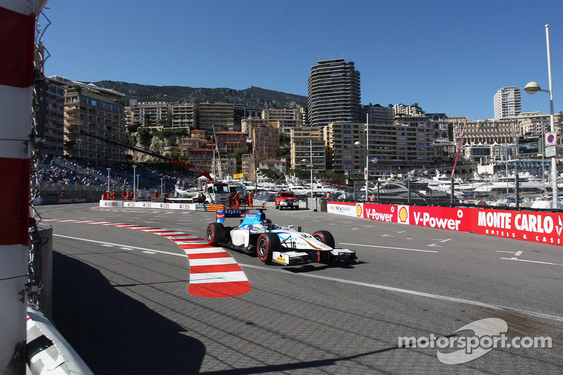 Barwa Addax's Rosenzweig in the top ten on Sprint Race in Monaco