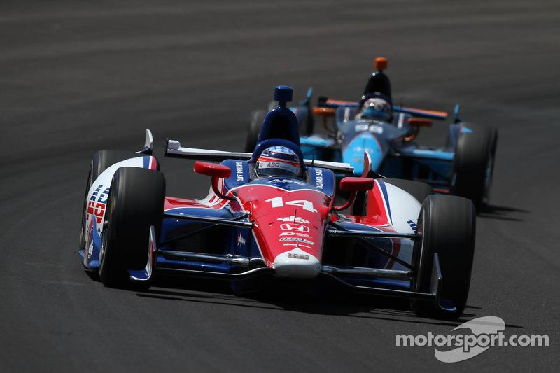 AJ Foyt Racing's Sato overcomes adversities in Indy 500