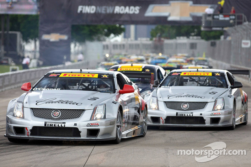 O'Connell Second in Cadillac V-Series Challenge in Detroit