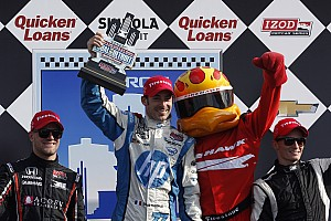 IndyCar Race report RLL's Jakes earned his best series finish with second place in Dual 2 in Detroit