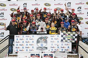 NASCAR Cup Race report Stewart does the Monster Mash at Dover