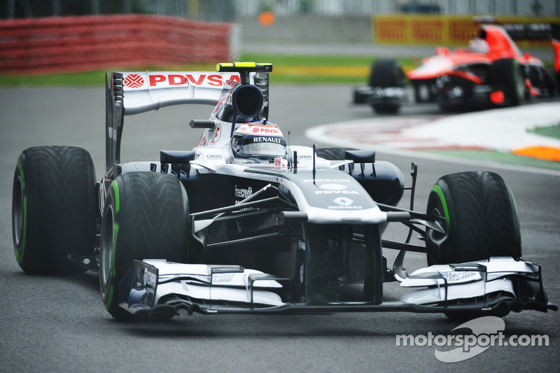 Bottas qualified 3rd with Maldonado 13th for tomorrow's Canadian GP