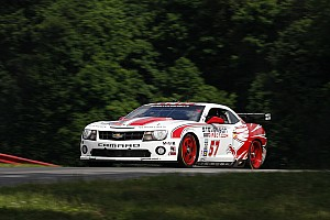 Grand-Am Race report Stevenson Motorsports on Mid-Ohio podium