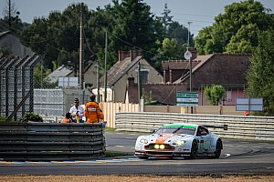 Le Mans Qualifying report Aston Martin fastest in first Le Mans qualifying session