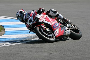 World Superbike Qualifying report Positive fourth place for Badovini in today's first qualifying at Imola