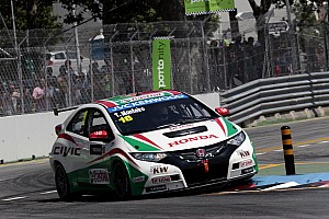 WTCC Qualifying report Turbocharger betrays Tiago Monteiro in Portugal