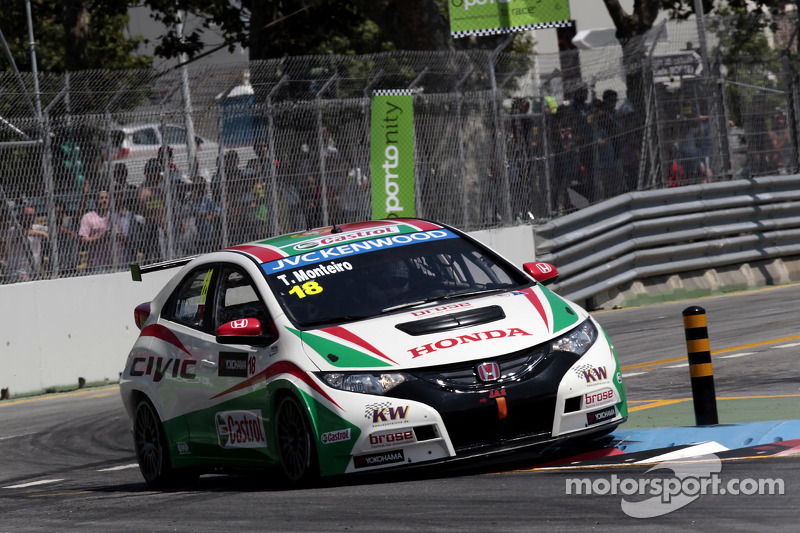 Turbocharger betrays Tiago Monteiro in Portugal