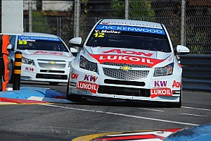 WTCC Race report Muller and Nash win street races at Porto's Boavista circuit