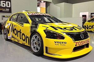 Supercars Breaking news New name and livery for Norton Nissan team in Townsville