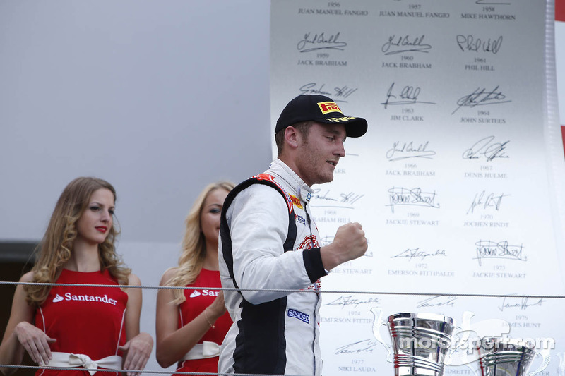A stunning Coletti gets the podium on Race 1 at Nurburgring