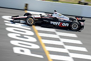 IndyCar Race report Power leads Team Chevy at Pocono with fourth place finish