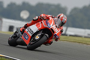 MotoGP Qualifying report Rows two and three for Ducati Team at German GP